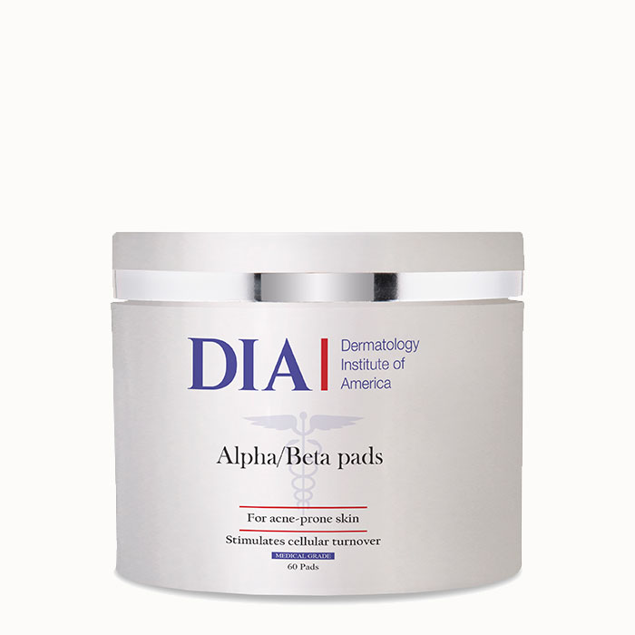 DIA Alpha/Beta Pads from Dermatologist Institute of America Professional Skincare Products | Dermatologist Formulated Skincare Product