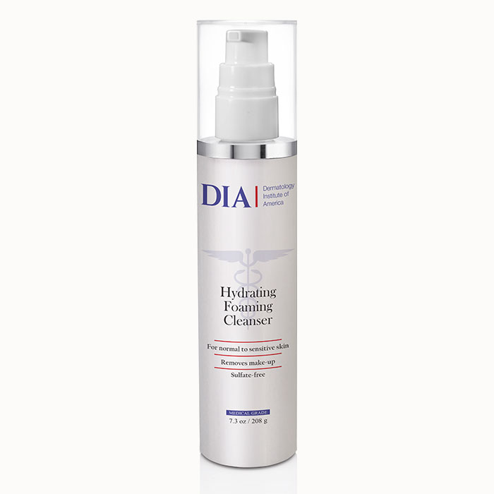 DIA Hydrating Foam Cleanser from Dermatologist Institute of America Professional Skincare Products | Dermatologist Formulated Skincare Product