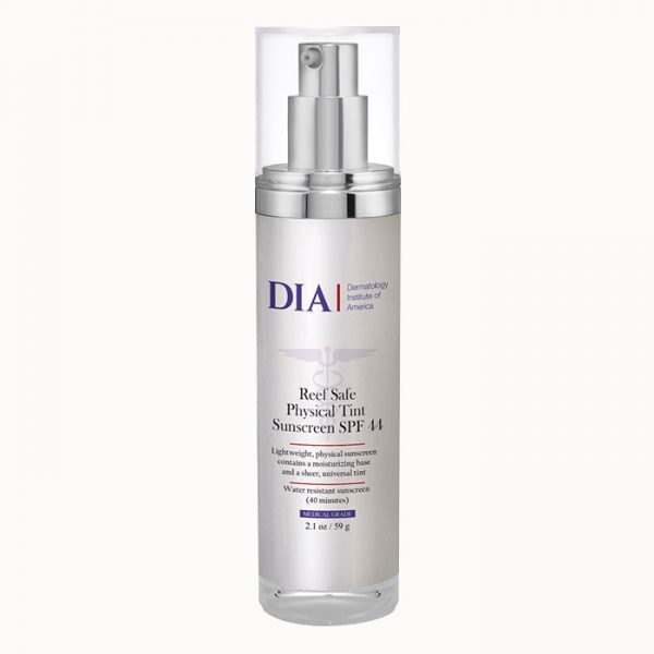 DIA Reef Safe Physical Tint Sunscreen SPF 44 from Dermatologist Institute of America Professional Skincare Products | Dermatologist Formulated Skincare Product