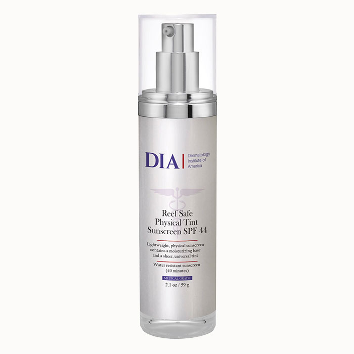 DIA Reef Safe Physical Tint Sunscreen SPF 44 from Dermatologist Institute of America Professional Skincare Products   Dermatologist Formulated Skincare Product