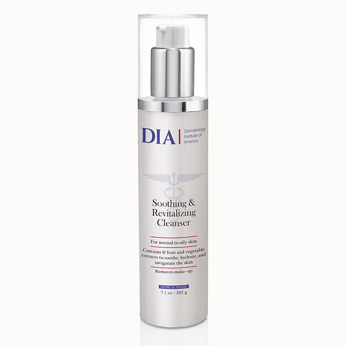 DIA Soothing and Revitalizing Cleanser from Dermatologist Institute of America Professional Skincare Products | Dermatologist Formulated Skincare Product